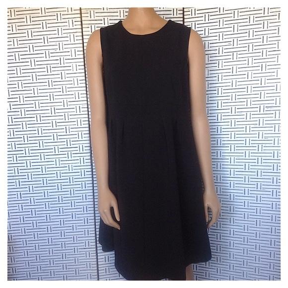 Topshop Dresses & Skirts - Topshop Maternity Black Crepe Seamed Formal Dress